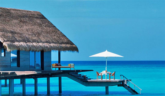 One&Only Reethi Rah luxury overwater resort maldives