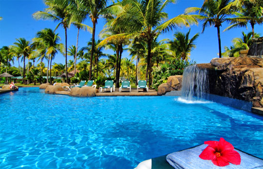 Tropical Island Resort Beaches: Slow Down At A Private Tropical Island Resort In St