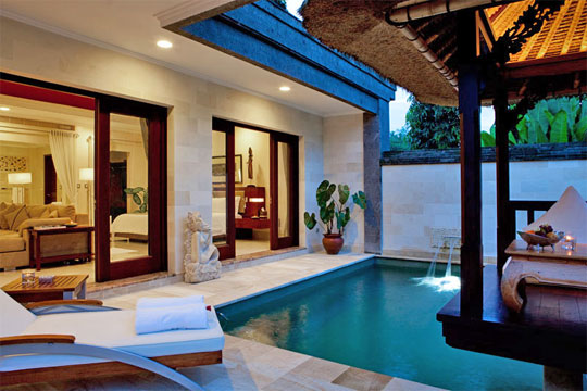 Contemporary Private Luxury Villas With Private Pools In