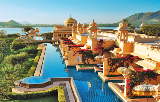 India's Best Luxury Hotels 2013